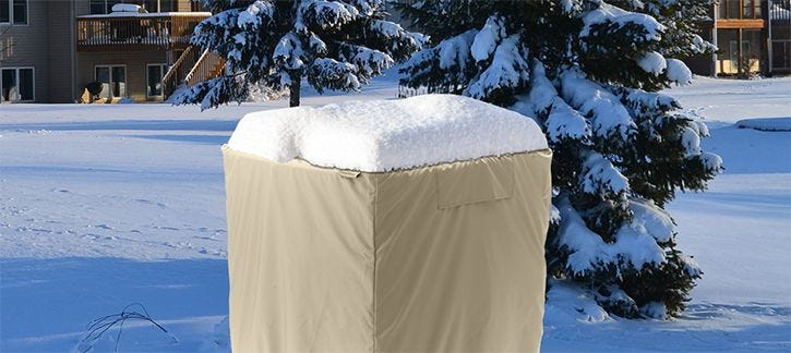 Central Air Conditioner Covers for Winter